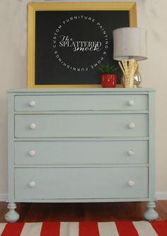Dresser in Fusion™ Inglenook, by The Splattered Smock