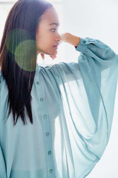 Kimchi Blue Volumes Blouse - Urban Outfitters