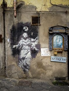 Banksy - Naples