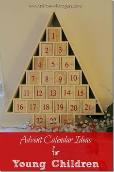 Advent Calendar for Young Children