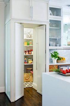 A Narnia pantry.