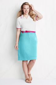 Women's A-line Plus 18W Skirts from Lands' End
