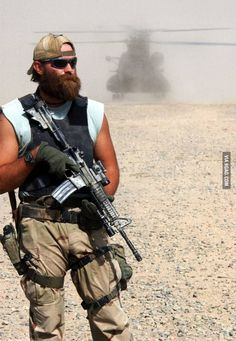 Can we all forget the stupid hipster beard... AND APPRECIATE THE BADASS SPECIAL FORCES BEARD!