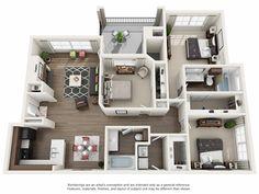 Preserve at Travis Creek Sims 4 House Plans, House Layout Plans, Small House Plans, House Layouts, Pool House Designs, Sims 4 House Design, Apartment Layout, Apartment Plans, Condo Floor Plans