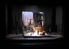 Fancy Theatre Royal Plymouth Scenic design by Tim Shortall