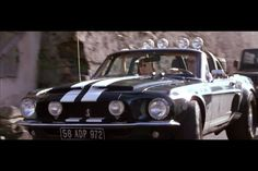 The Tomas Crown Affair 1968 Shelby Mustang GT 500 Movie and TV Cars Picture