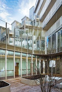 Nursing Home, Clichy-Batignolles Ecodistrict In Paris - Picture gallery