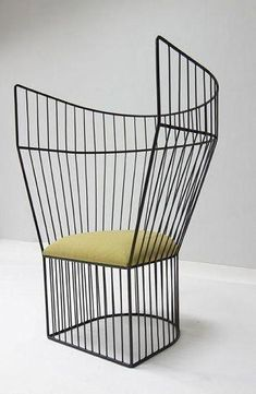 Eye on Singapore Design: Nathan Yong Nathan Yong. This chair includes shoulders in the lower back to wrap the user. Design Furniture, Cheap Furniture, Chair Design, Modern Furniture, Home Furniture, Metal Furniture, Furniture Movers, Furniture Ideas, Console Design