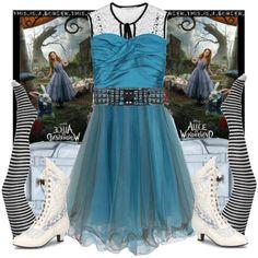 Cool! Alice in Wonderland fashion