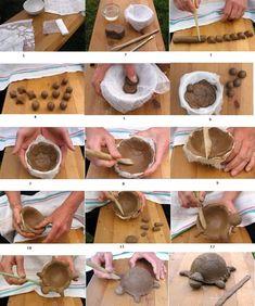 лепим из природной глины с детьми: 10 тыс изображений найдено в Яндекс.Картинках Ceramic Workshop, Clay Animals, Stuffed Mushrooms, Creations, Pottery, Handmade, Instagram, Mud, Twine