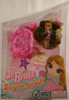 Lil Bratz Surprise Locket Jade Mini Figure Doll /& Accessories HTF