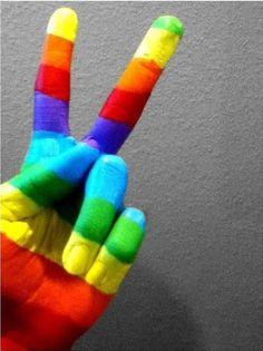 peace de colores