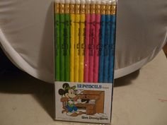 Free: Mint in pack set of 12 pencils from Walt Disney world theme park - Other Collectibles - Listia.com Auctions for Free Stuff