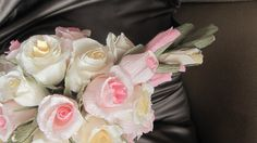 Wedding Bouquet High quality Italian crepe paper by moniaflowers