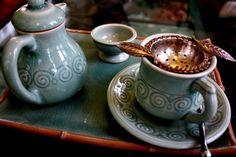 FOOD - Chiang Mai - Raming Tea House on Thapae Road (Lapis Herb Cake)