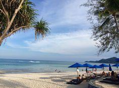 Traumhafter Strand Chaweng Beach auf Koh Samui in Thailand. Der Strand liegt direkt vor dem Ozo Hotel.