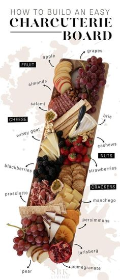 Simple Cheese Platter, Meat Cheese Platters, Meat Platter, Food Platters, Cheese Platter Board, Charcuterie Board Meats, Charcuterie And Cheese Board, Cheese Boards, Recipes For Charcuterie