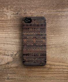Aztèque iPhone 5 cas flèche iPhone 4 cas tribal iPhone par TonCase, $23.99