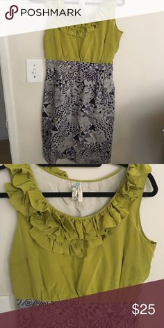 Barely Worn Maeve Dress Super cute Maeve dress with pockets from Anthropologie. Dress only worn a couple of times. Size 6 Anthropologie Dresses
