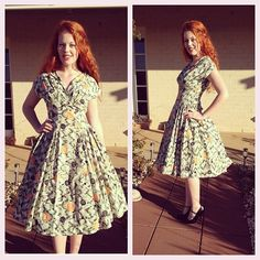 And the second $2 #50s dress!