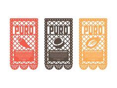 Puro Chocolate - Branding and Packaging by Bec Mercer, via Behance