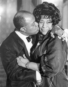 #EllaFitzgerald and #LouisArmstrong -- #BowTie