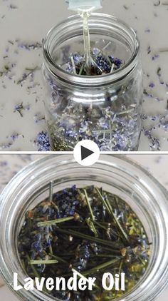 All you need is Lavender and any carrier oil.  For this particular recipe, you will need a 500 ml jar filled with dry #lavender, #lavenderoil, #homemadeskincare, #diyskincare, #herbalremedies, #herbalism