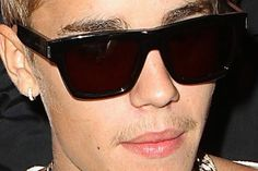 Justin Bieber Upper Lip Hair, Drinking Coffee and Slapping Managers (Video)