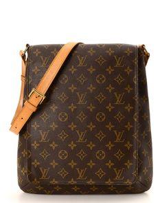 Louis Vuitton Monogram Musette Messenger Bag - Vintage