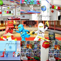 ninjago LEGO birthday decorations
