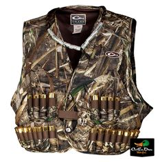 Drake Waterfowl Duck Goose Hunting Wading Vest Camo for sale online Turkey Hunting Vest, Duck Hunting Gear, Waterfowl Hunting, Hunting Tips, Hunting Rifles, Hunting Clothes, Duck Season, Hunting Blinds, Drake