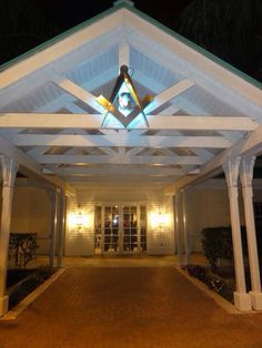 West Broward Lodge #253 front shot Freemasonry, Gazebo, Shots, Outdoor Structures, Kiosk, Pavilion, Cabana