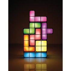 Tetris bordlampe - Form selv lampen, som du vil!