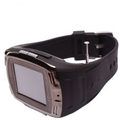 """W09 1.5"""" Quad Band Touch Screen Wrist Watch Phone with Camera GPRS Mp4 Mp3"""