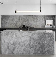 Creating the Perfect Kitchen Benchtop: Fat Shack Vintage + CDK Stone Kitchen Island Bench, Kitchen Island Lighting, Neolith Stone, Fat Shack, Vintage Industrial, Benches, Natural Stones, Track Lighting, Collaboration