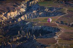 Balloon above Cappadocia