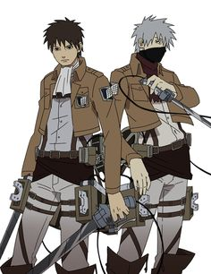 Hm... Apparently, Yamato is Levi and Kakashi is Mikasa. They should change the roles. Kakashi should be Levi.