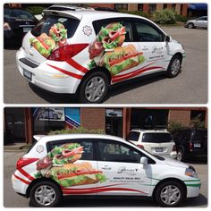 Great commercial wrap by GTA CAR WRAP. Call us today at 1-844-404-WRAP (9727)