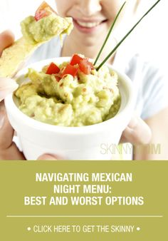 Get healthy mexican options!