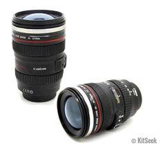 Canon Camera Lens Coffee and Tea Mug