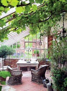 Tips for winter garden – green oasis center privacy | Interior Design Ideas - Ofdesign