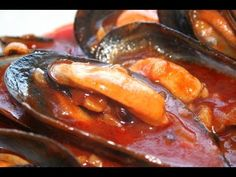 Mejillones picantes con tomate - Recetas Solís - YouTube