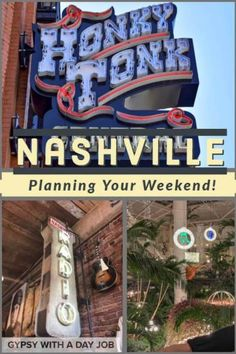 Whether it is 2 days in Nashville, or 3 days in Nashville, a weekend in Nashville should be in your plans.  There will be loads of amazing things to eat in Nashville, as well as incredible things to do in Nashville.  #nashville #tennessee #countrymusic #usatravel