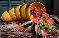 Fiestaware cornucopia