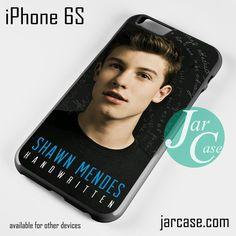 Shawn Mendes Handwaitten Phone case for iPhone 6/6S/6 Plus/6S plus