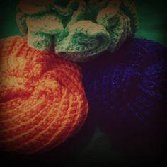 Handmade crochet sponge. Materiales: Estambre brisa y cristal. #AmoelCrochet.