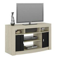 Ikea regal kallax mit türen  KALLAX Regal mit Türen - Eichenachbildung weiß las. - IKEA ...