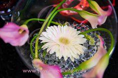 #Garden #Daisy and #Calla #Lilies #Centerpieces