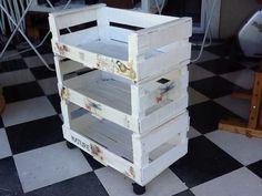 Organizador con cajas