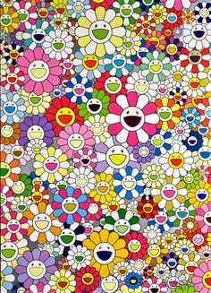 TAKASHI MURAKAMI, An Homage to Yves Klein, Multicolor A, Martin Lawrence Galleries